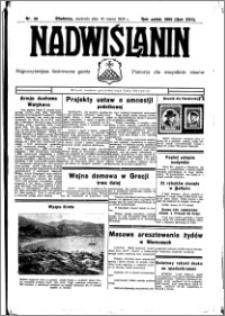 Nadwiślanin. Gazeta Ziemi Chełmińskiej, 1935.03.10 R. 17 nr 30