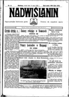 Nadwiślanin. Gazeta Ziemi Chełmińskiej, 1935.03.12 R. 17 nr 31