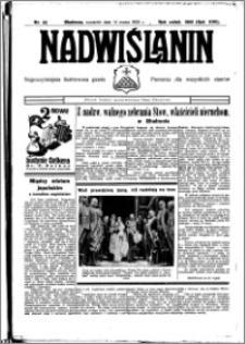 Nadwiślanin. Gazeta Ziemi Chełmińskiej, 1935.03.14 R. 17 nr 32