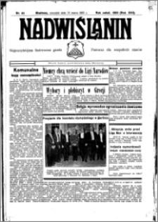 Nadwiślanin. Gazeta Ziemi Chełmińskiej, 1935.03.21 R. 17 nr 35