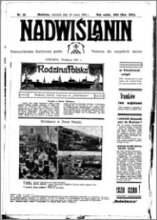 Nadwiślanin. Gazeta Ziemi Chełmińskiej, 1935.03.24 R. 17 nr 36