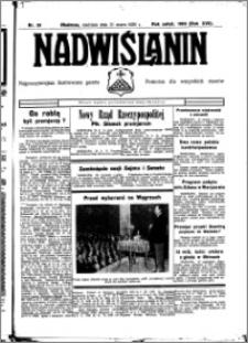 Nadwiślanin. Gazeta Ziemi Chełmińskiej, 1935.03.31 R. 17 nr 39