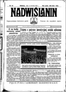 Nadwiślanin. Gazeta Ziemi Chełmińskiej, 1935.04.01-02 R. 17 nr 40