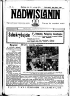 Nadwiślanin. Gazeta Ziemi Chełmińskiej, 1935.04.10-11 R. 17 nr 44