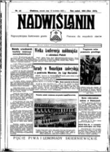 Nadwiślanin. Gazeta Ziemi Chełmińskiej, 1935.04.16 R. 17 nr 46