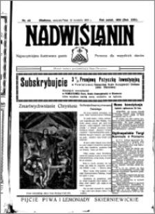 Nadwiślanin. Gazeta Ziemi Chełmińskiej, 1935.04.21 R. 17 nr 48