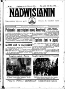 Nadwiślanin. Gazeta Ziemi Chełmińskiej, 1935.04.24-25 R. 17 nr 49