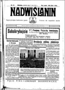 Nadwiślanin. Gazeta Ziemi Chełmińskiej, 1935.05.05 R. 17 nr 53