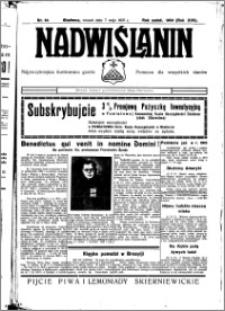 Nadwiślanin. Gazeta Ziemi Chełmińskiej, 1935.05.07 R. 17 nr 54