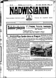 Nadwiślanin. Gazeta Ziemi Chełmińskiej, 1935.05.08-09 R. 17 nr 55