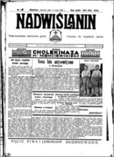 Nadwiślanin. Gazeta Ziemi Chełmińskiej, 1935.05.12 R. 17 nr 56