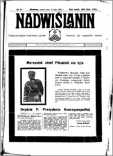 Nadwiślanin. Gazeta Ziemi Chełmińskiej, 1935.05.14 R. 17 nr 57