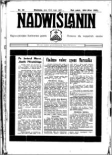 Nadwiślanin. Gazeta Ziemi Chełmińskiej, 1935.05.15-16 R. 17 nr 58