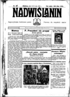 Nadwiślanin. Gazeta Ziemi Chełmińskiej, 1935.05.22-23 R. 17 nr 61