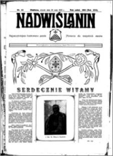 Nadwiślanin. Gazeta Ziemi Chełmińskiej, 1935.05.28 R. 17 nr 63