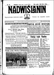 Nadwiślanin. Gazeta Ziemi Chełmińskiej, 1935.06.04 R. 17 nr 66