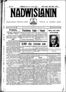 Nadwiślanin. Gazeta Ziemi Chełmińskiej, 1935.06.06-07 R. 17 nr 67