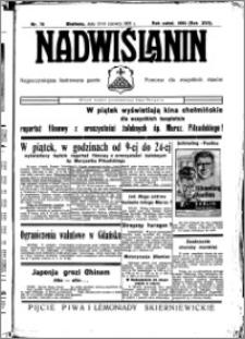 Nadwiślanin. Gazeta Ziemi Chełmińskiej, 1935.06.13-14 R. 17 nr 70