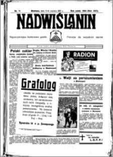 Nadwiślanin. Gazeta Ziemi Chełmińskiej, 1935.06.15-16 R. 17 nr 71