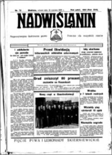 Nadwiślanin. Gazeta Ziemi Chełmińskiej, 1935.06.18 R. 17 nr 72
