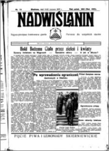 Nadwiślanin. Gazeta Ziemi Chełmińskiej, 1935.06.19-20 R. 17 nr 73