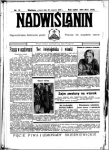 Nadwiślanin. Gazeta Ziemi Chełmińskiej, 1935.06.25 R. 17 nr 75