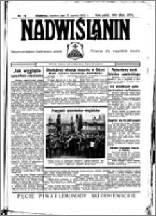 Nadwiślanin. Gazeta Ziemi Chełmińskiej, 1935.06.27 R. 17 nr 76