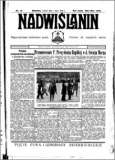 Nadwiślanin. Gazeta Ziemi Chełmińskiej, 1935.07.01 R. 17 nr 78