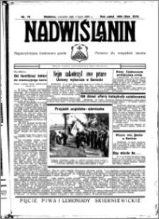 Nadwiślanin. Gazeta Ziemi Chełmińskiej, 1935.07.04 R. 17 nr 79