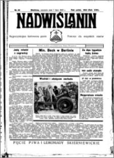 Nadwiślanin. Gazeta Ziemi Chełmińskiej, 1935.07.07 R. 17 nr 80