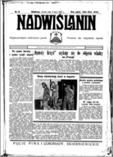 Nadwiślanin. Gazeta Ziemi Chełmińskiej, 1935.07.09 R. 17 nr 81