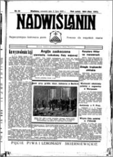 Nadwiślanin. Gazeta Ziemi Chełmińskiej, 1935.07.11 R. 17 nr 82