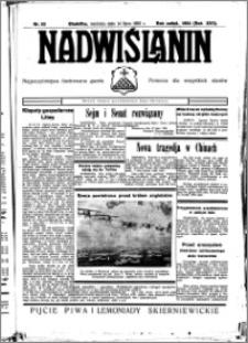 Nadwiślanin. Gazeta Ziemi Chełmińskiej, 1935.07.14 R. 17 nr 83