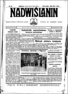 Nadwiślanin. Gazeta Ziemi Chełmińskiej, 1935.07.16 R. 17 nr 84