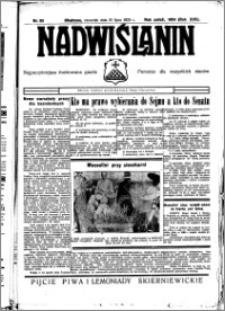 Nadwiślanin. Gazeta Ziemi Chełmińskiej, 1935.07.18 R. 17 nr 85