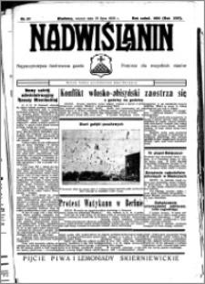 Nadwiślanin. Gazeta Ziemi Chełmińskiej, 1935.07.23 R. 17 nr 87