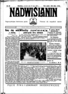 Nadwiślanin. Gazeta Ziemi Chełmińskiej, 1935.07.25 R. 17 nr 88