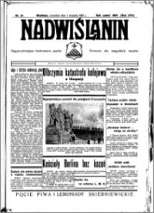 Nadwiślanin. Gazeta Ziemi Chełmińskiej, 1935.08.01 R. 17 nr 91