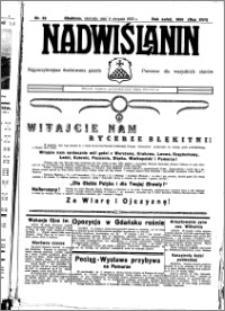 Nadwiślanin. Gazeta Ziemi Chełmińskiej, 1935.08.04 R. 17 nr 92