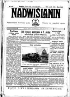 Nadwiślanin. Gazeta Ziemi Chełmińskiej, 1935.08.06 R. 17 nr 93