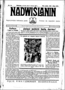 Nadwiślanin. Gazeta Ziemi Chełmińskiej, 1935.08.08 R. 17 nr 94