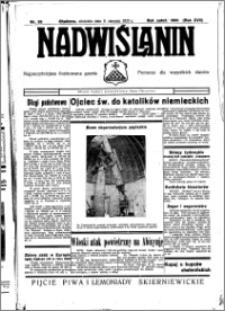 Nadwiślanin. Gazeta Ziemi Chełmińskiej, 1935.08.11 R. 17 nr 95