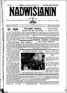 Nadwiślanin. Gazeta Ziemi Chełmińskiej, 1935.08.13 R. 17 nr 96