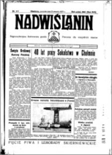 Nadwiślanin. Gazeta Ziemi Chełmińskiej, 1935.08.15 R. 17 nr 97