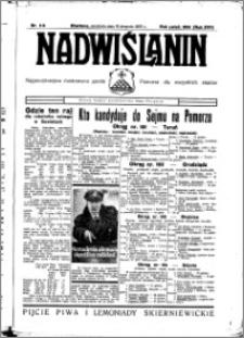 Nadwiślanin. Gazeta Ziemi Chełmińskiej, 1935.08.18 R. 17 nr 98