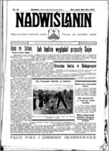 Nadwiślanin. Gazeta Ziemi Chełmińskiej, 1935.08.20 R. 17 nr 99