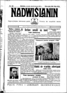 Nadwiślanin. Gazeta Ziemi Chełmińskiej, 1935.08.22 R. 17 nr 100
