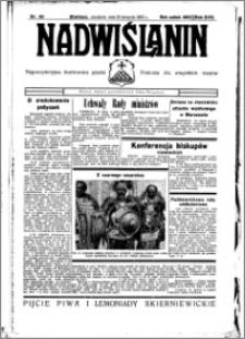 Nadwiślanin. Gazeta Ziemi Chełmińskiej, 1935.08.25 R. 17 nr 101
