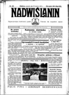 Nadwiślanin. Gazeta Ziemi Chełmińskiej, 1935.08.29 R. 17 nr 103
