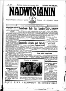 Nadwiślanin. Gazeta Ziemi Chełmińskiej, 1935.09.08 R. 17 nr 107